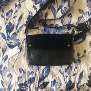 Leather crossbody/ belt bag.